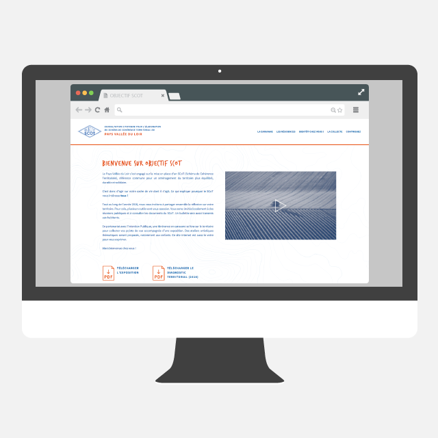 Objectif SCOT site web - eszett studio