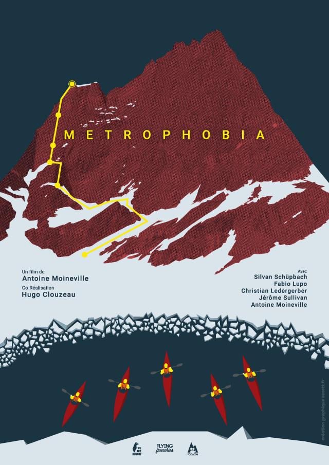 Affiche Metrophobia - eszett studio