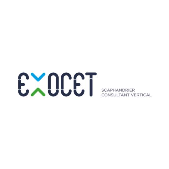 Exocet logo - eszett studio